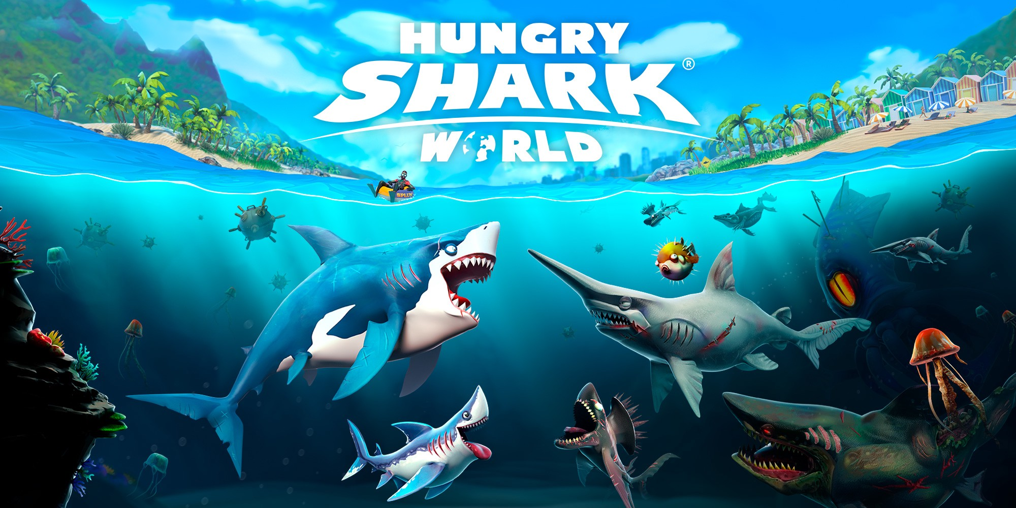 Cheat Hungry Shark World Diamond Tanpa Batas